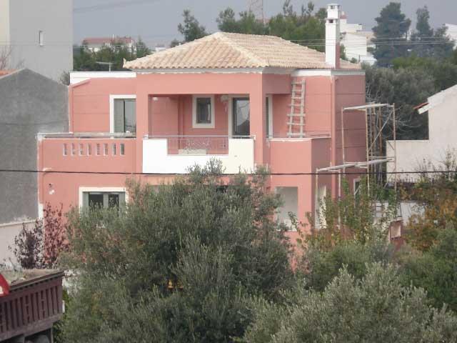 Διώροφη κατοικία στο Λευκαντί Ευβοίας